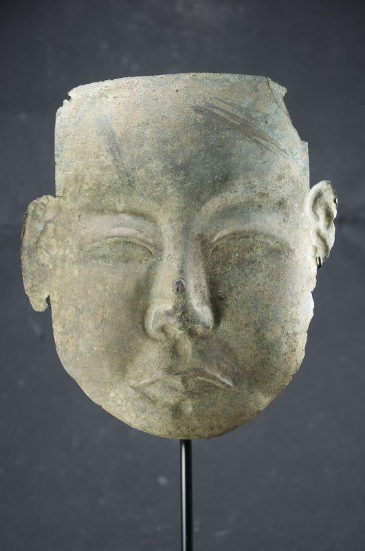 Important & Rare Death Mask, Liao Dynasty
