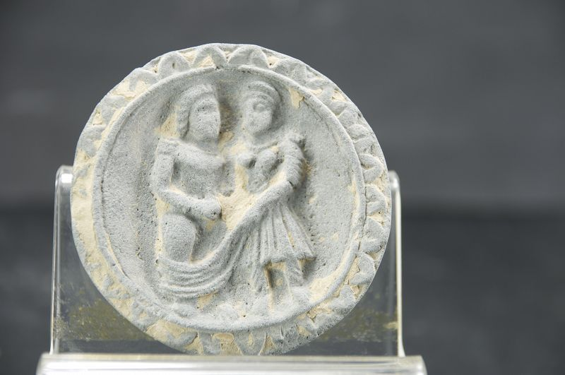 Unusual Cosmetic Plate, Gandhara
