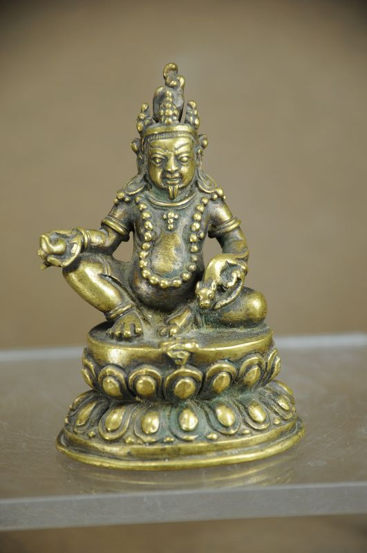 Statue of Jambhala, Tibet, Early 19th C.
