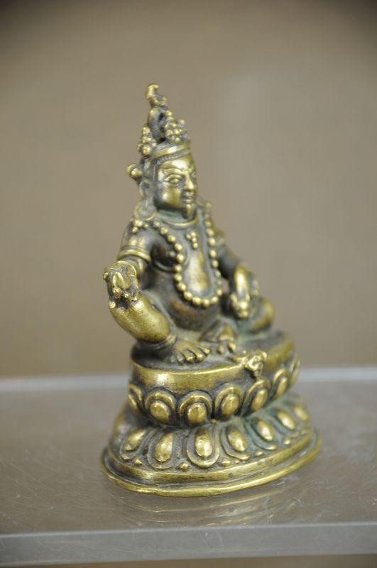 Statue of Jambhala, Tibet, Early 19th C.