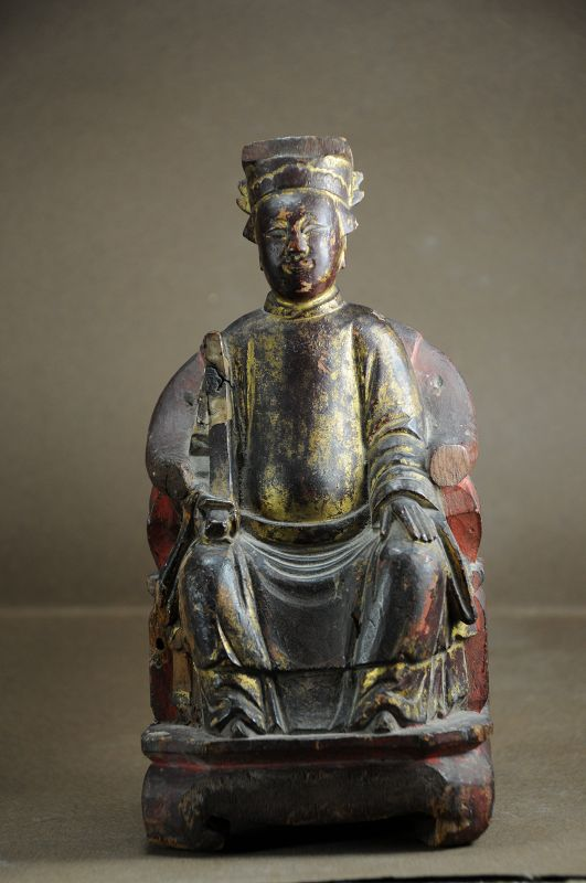 Statue of a Taoist Deity # 4, China, Early 20th C.