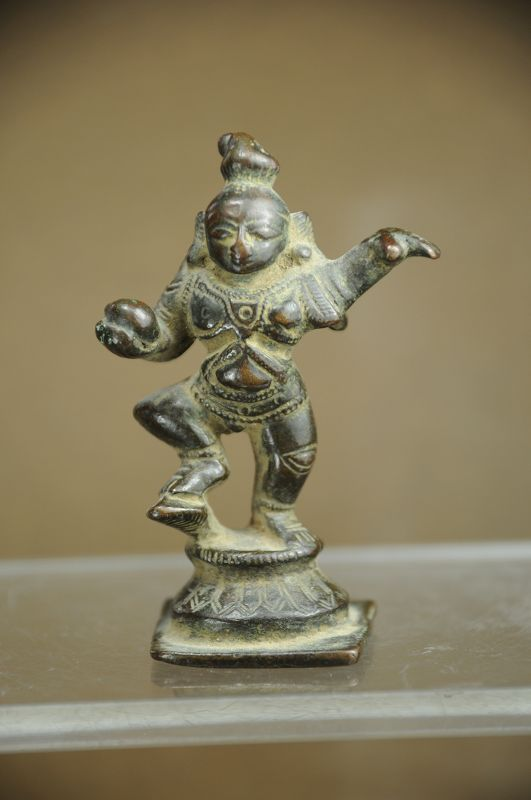Statue of Krishna Kaliyadamana, India, Early 19th C.