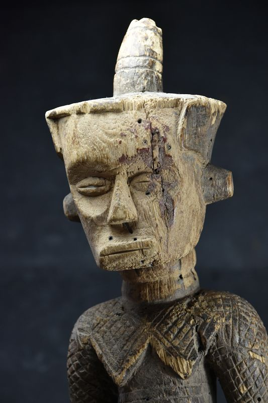 Rare Female Figurine,  R.D. Congo, Dengese Ethnic Group