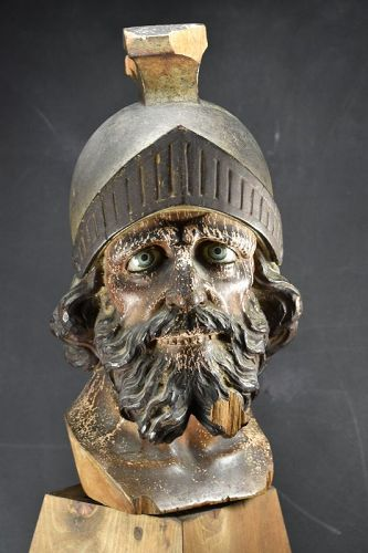 Important Head Of A Centurion, 18th century