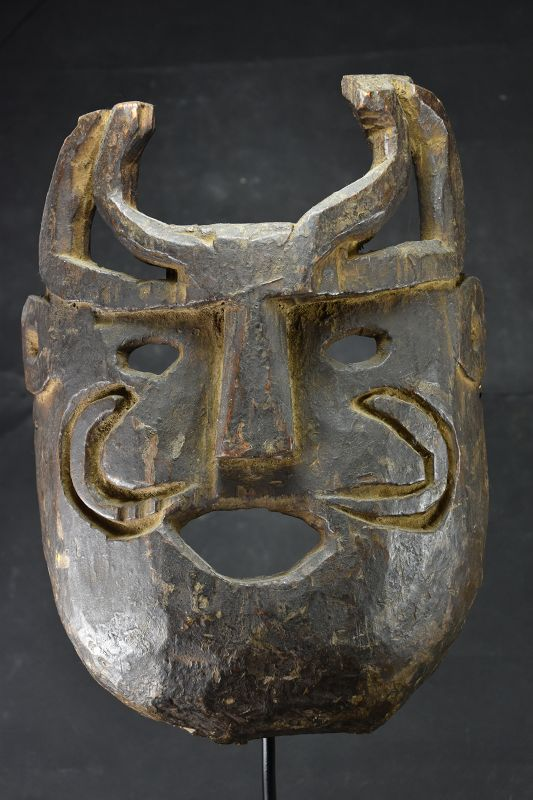 Important Himalayan Mask, Nepal, Early 20th C.