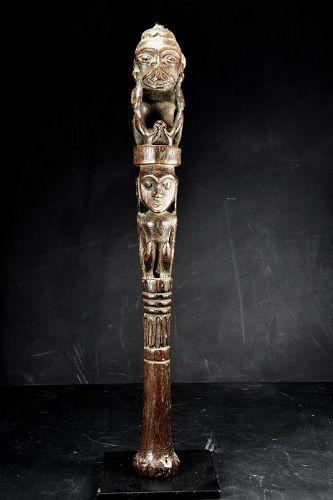 Chief Sceptre, Indonesia, Dayak Peoples