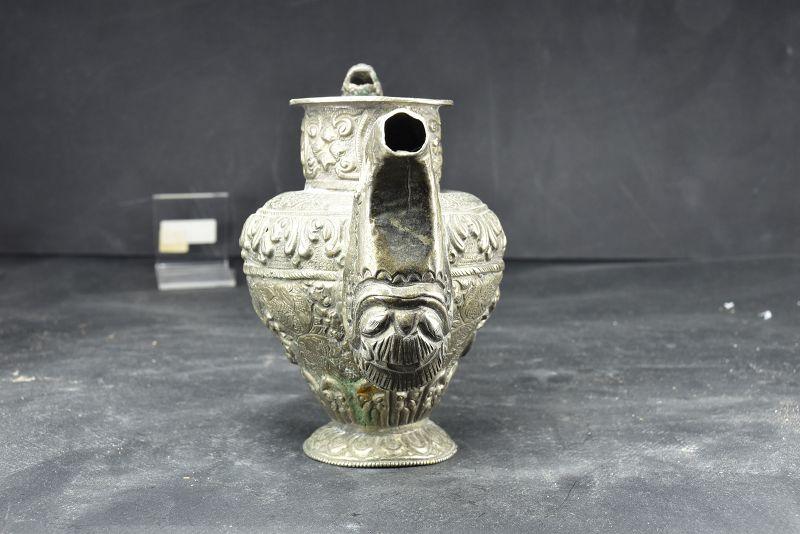 Silver Pot, Tibet, 19th Century