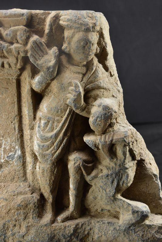 Relief Fragment, Gandhara Period, Ca. 3rd C.