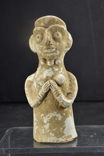 Fertility Goddess Statue, Indus Civilisation, Ca. 3000 B.C.