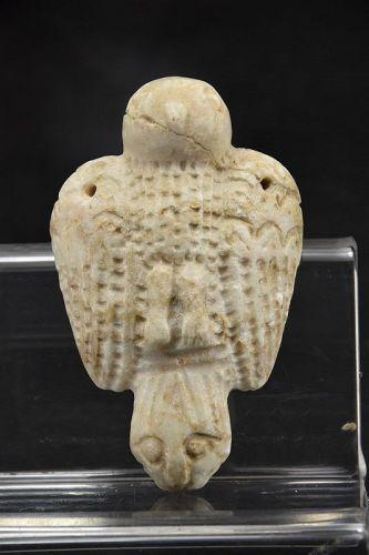 Important Alabaster Amulet, Mesopotamia, Ca. 2000 BC