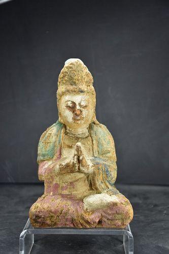 Statue of Kuan Yin, China, 19th Century
