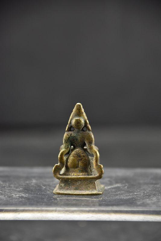 Miniature Statue of Goddess Annapurna, India, 17th C.