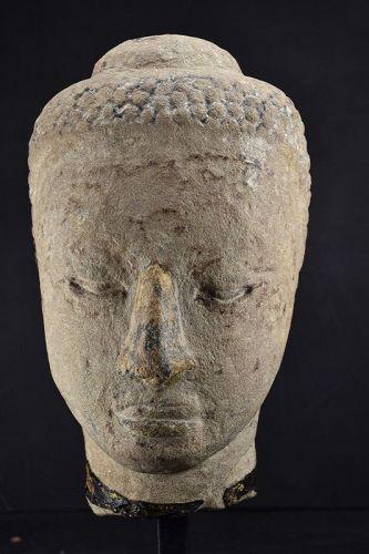 Head of Buddha, Thai Ayuthaya Period
