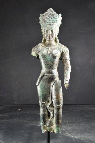 Statue of Padmapani, Gandhara, Ca. 1st to 3rd C.
