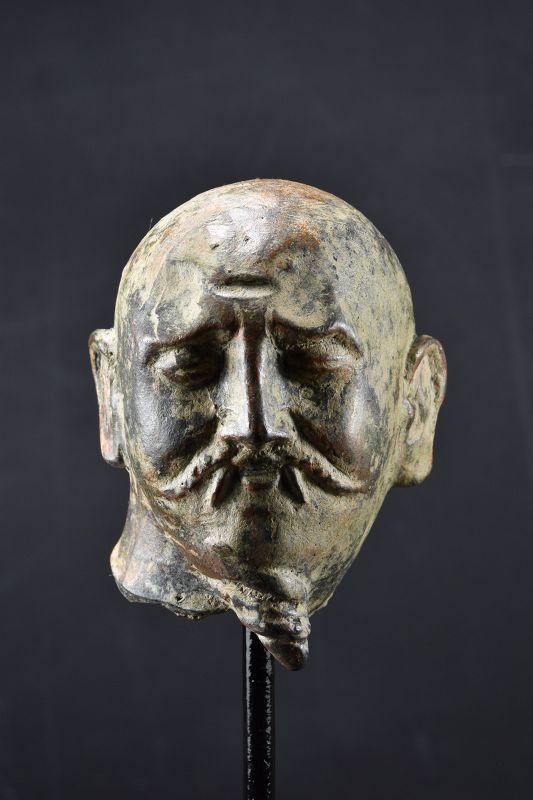 Head of a Man, Gandhara, Ca. 3rd C.