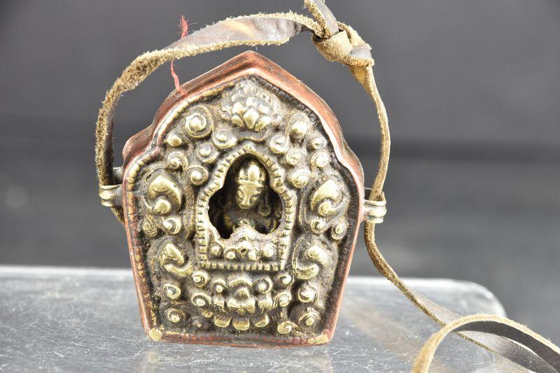 """Miniature """"ghau"""", Tibet, 19th C."""