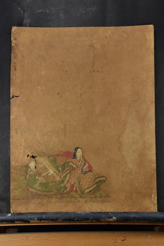 A Pair of Paintings on Paper, Japan, Mid Edo Period