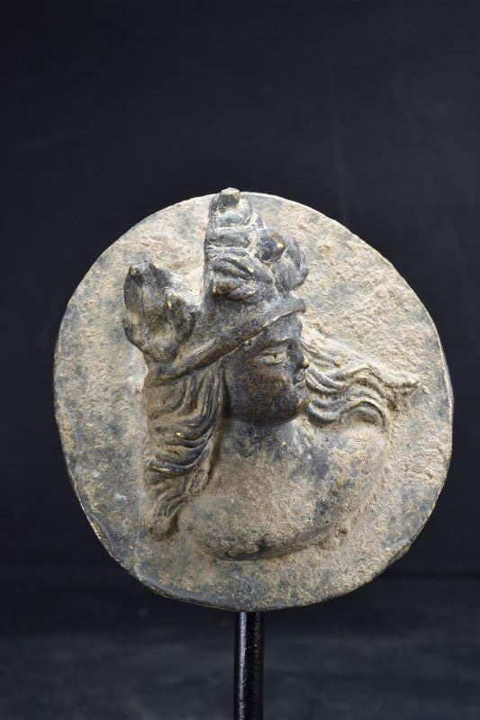 Bronze Relief, Gandhara, Ca. 3rd Century