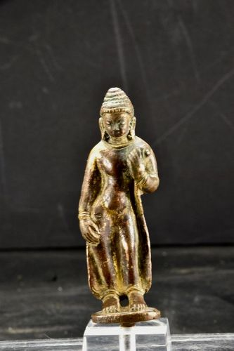 Gilt Bronze Statue of  Buddha, Nepal, 15th/16th C.