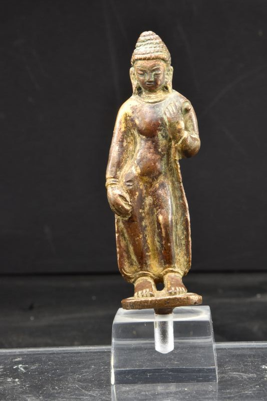 Gilt Bronze Statue of  Buddha, Nepal, 15th/16th C.