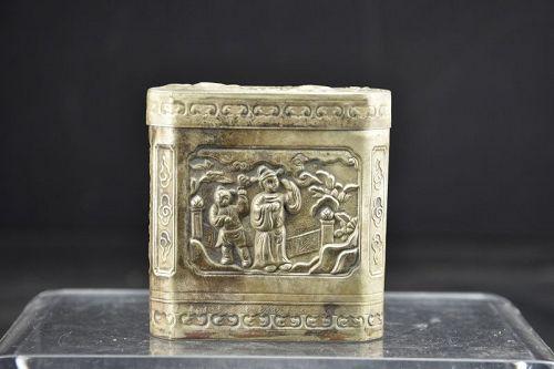 Fine Opium Box, China, 19th Century