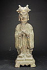 Statue of a Taoist Deity, China, Ming Dynasty