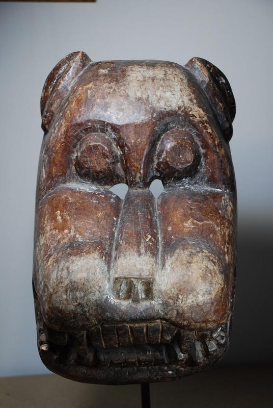 Large Himalayan Mask, Early 20th C.