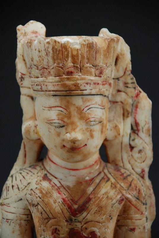 Statue of Crowned Buddha, Burma, 17th C.