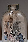 Rare Erotic Snuff Bottle, China, 19th C.