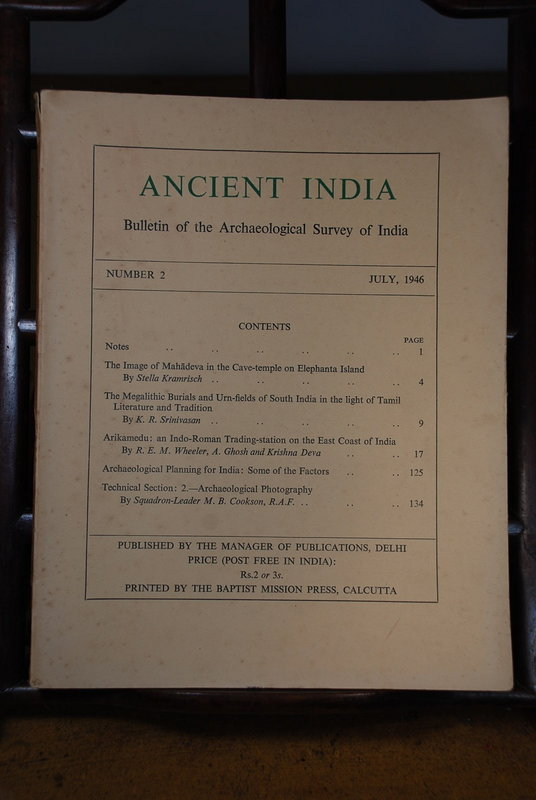 Ancient India Bulletin, No 2, July 1946