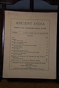 Ancient India Bulletin, No 4, July 1947-January 1948
