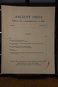 Ancient India Bulletin, No 7, January 1951