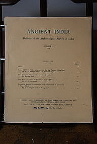 Ancient India Bulletin, No 15, Year 1959
