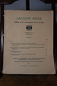 Ancient India Bulletin, Nos 18 & 19, Years 1962 & 1963