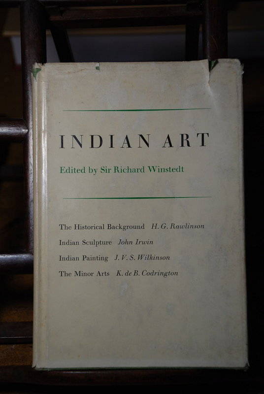 """Indian Art"", Edited by Sir Richard Winstedt"