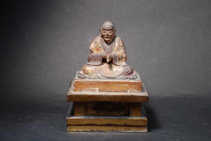 Statue of a Zen Master, Japan, 19th C.
