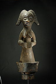 Reliquary Figure, Gabon, Punu Peoples