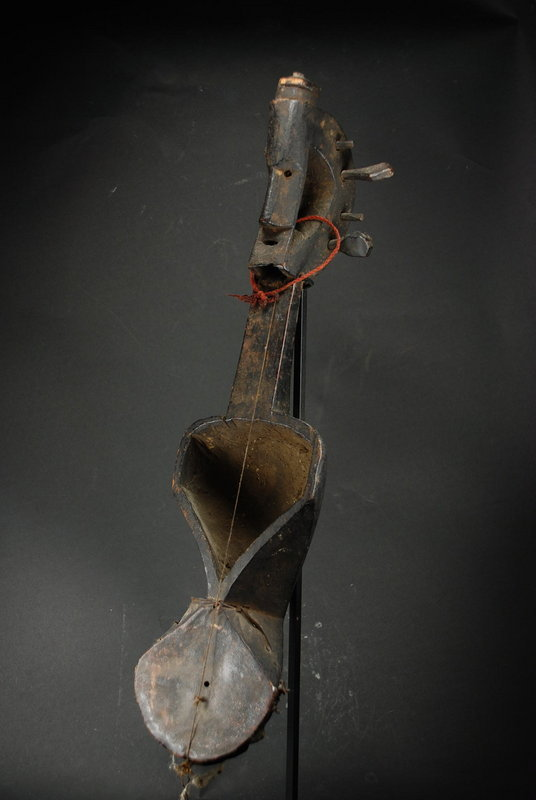 "Tribal Lute (""Saranghi""), Himalaya, Ca. 19th C."