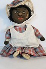 "13"" black cloth doll  Sallie, cute as you can get"