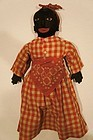 "24"" Antique black doll all original from Georgia 1924"