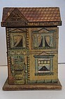 Antique R. Bliss Victorian doll house orig. paper