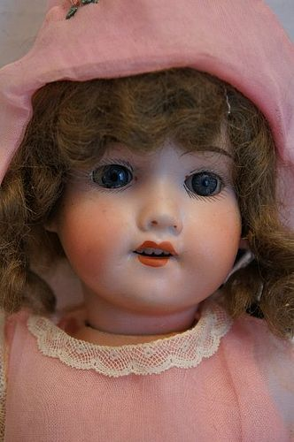 "14"" A M doll with composition body sleep eyes"