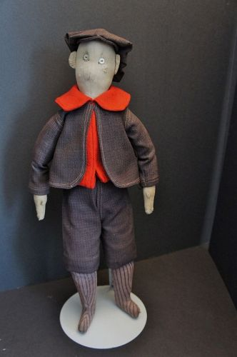 Sunday best cloth boy doll with great clothes and face 21""
