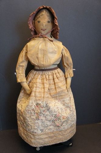 "26"" painted face cloth doll with lots of special features C1880"