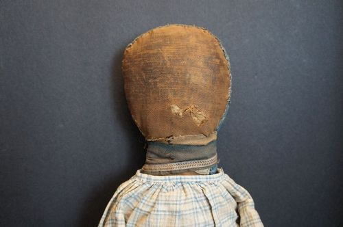 All original repairs, a wonderful early rag doll. 1890