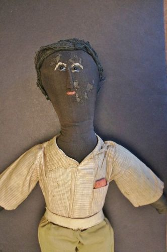 Great boy doll with a lot going for him, expressive face 18""