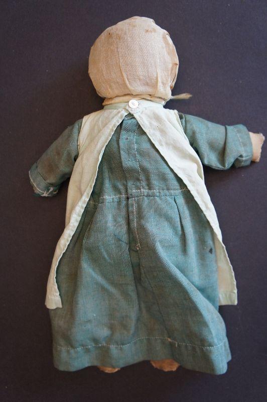"Lancaster County, PA rag stuffed Amish doll 12"""