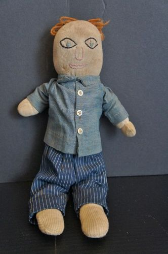 What do you think, college professor? Stockinette doll so cute