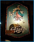 1980s Blatz Beer Lit Sign