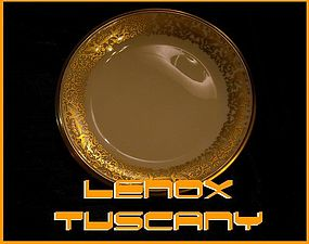 Lenox Tuscany Bread/Butter Plate  MSRP: $17.99